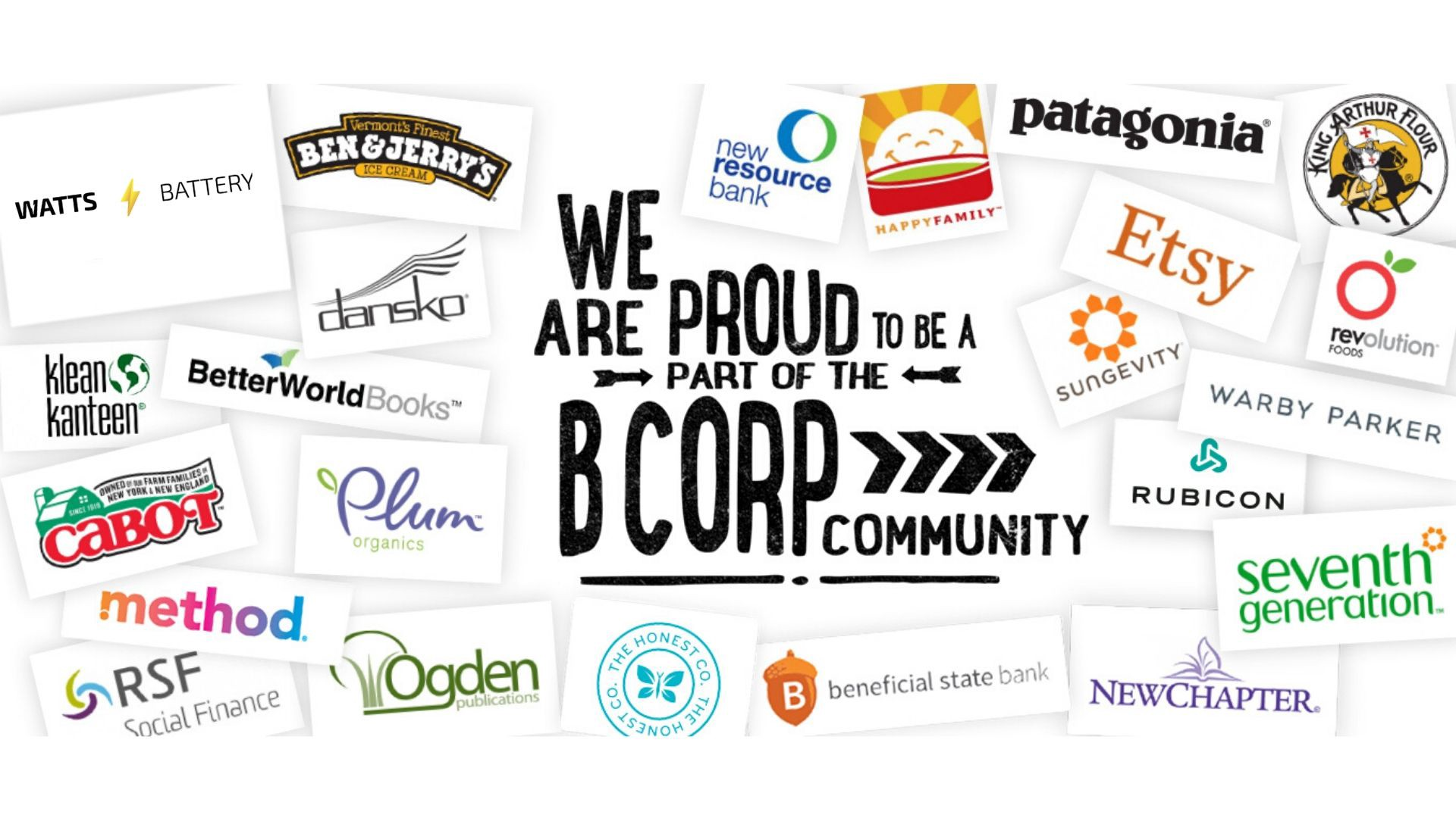 WATTS Battery — We Are a B Corp!