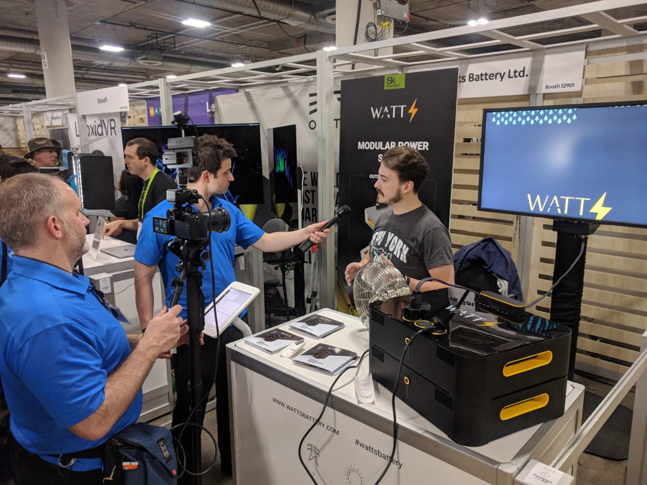 Success at CES and First Customers