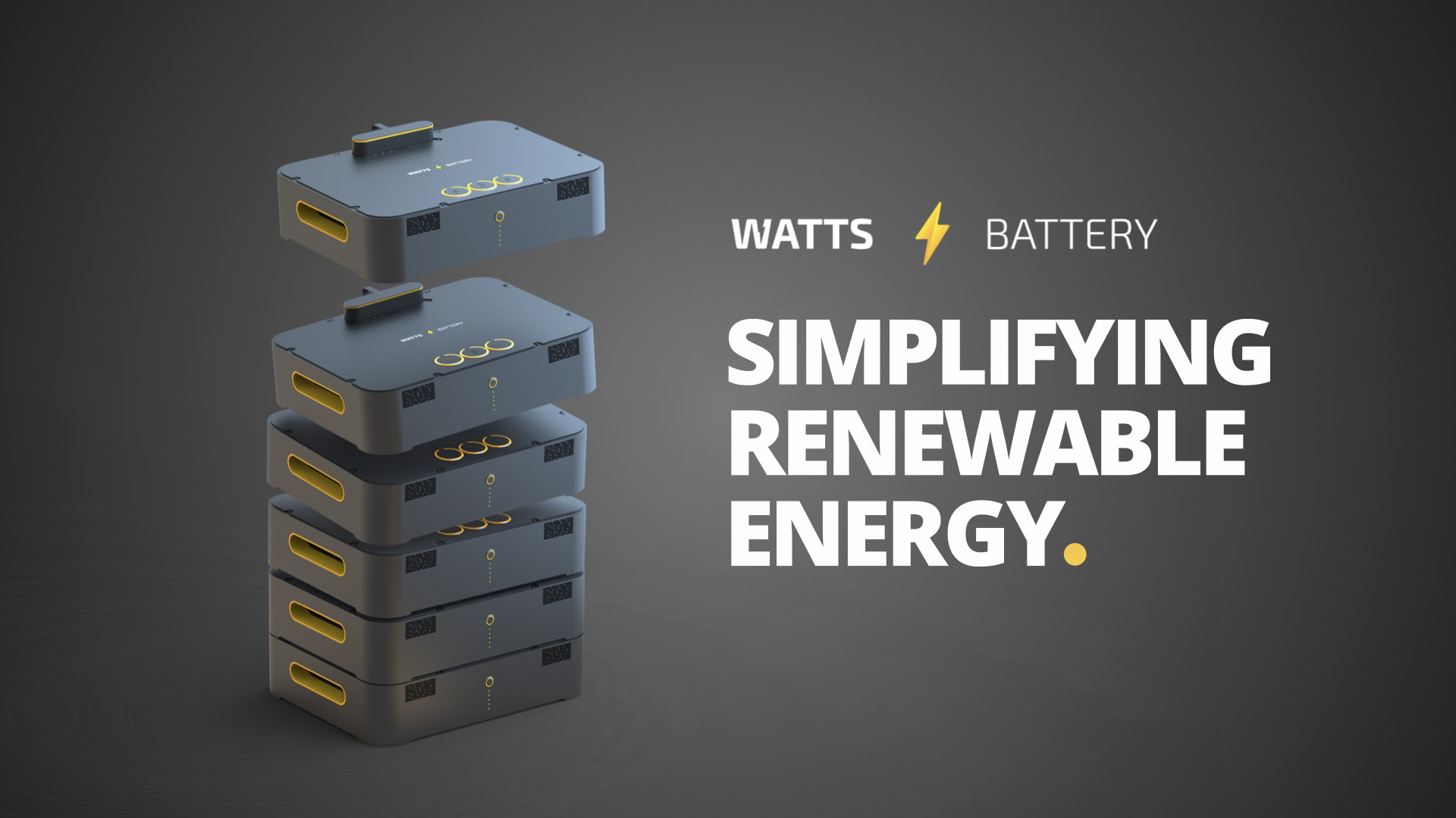 The Future: WATTS Battery Energy Management System
