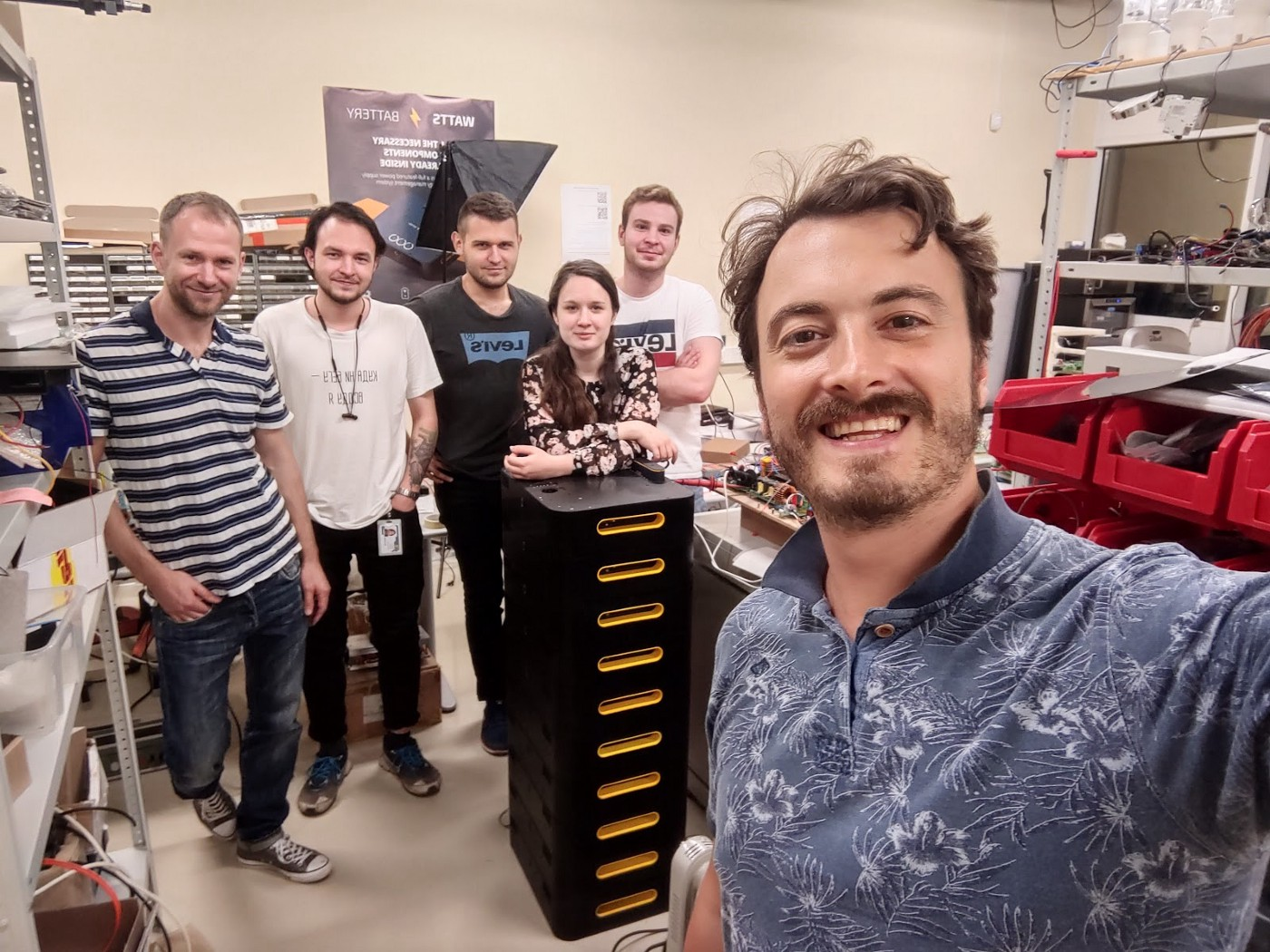 WATTS Battery After 4 Years: Our Team and Mission
